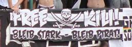 """Free Kili! Bleib stark - Bleib Pirat\"""""""