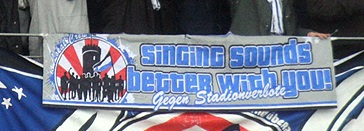 Singing sounds better with you!