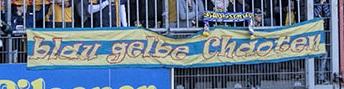 blau gelbe Chaoten
