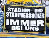 Stadion- und Stadtverbotler immer bei uns