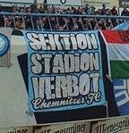 Sektion Stadionverbot - Chemnitzer FC