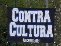 Contra Cultura (Wei� auf Schwarz)