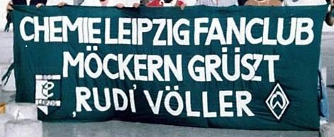 Fanclub Möckern grüszt \'Rudi\' Völler
