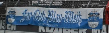 Fan-Club Blau-Wei�