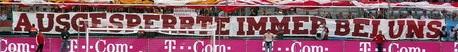 Ausgesperrte immer bei uns (Bayern München)