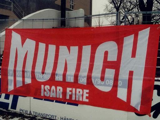 Munich - Isar Fire
