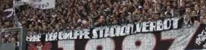 Ehre der Gruppe Stadionverbot