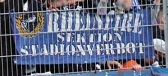 Rheinfire - Sektion Stadionverbot