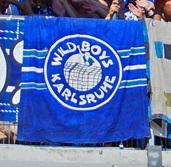 Wild Boys Karlsruhe (blau, klein)