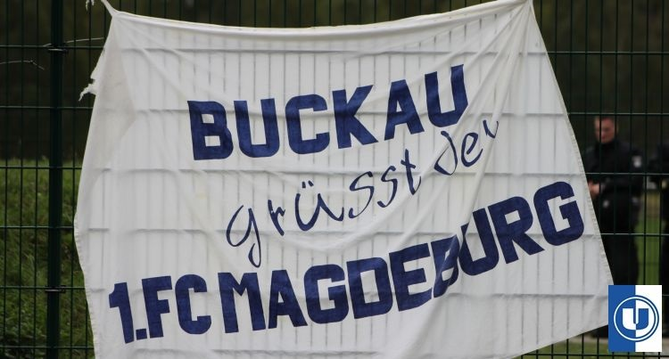 Buckau grü�t den 1.FC Magdeburg