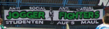 Jogger Fighters - Anti Social Anti Casual Studenten auf\'s Maul
