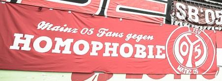 Mainz 05 Fans gegen Homophobie