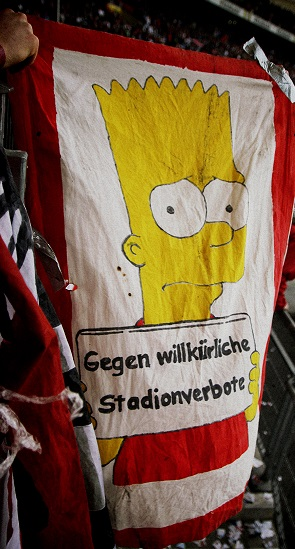 Gegen willkürliche Stadionverbote