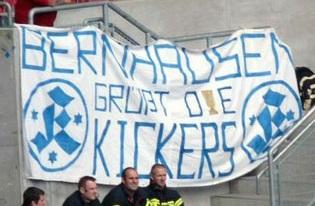 Bernhausen grü�t die Kickers