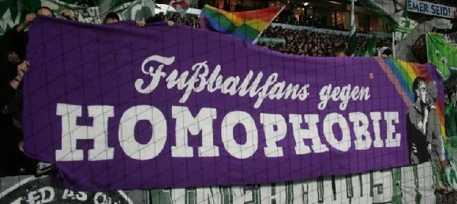 Fu�ballfans gegen Homophobie (Bremen)
