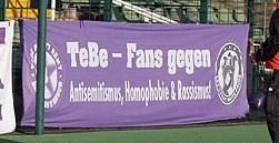 TeBe-Fans gegen Antisemitismus, Homophobie & Rassismus