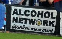 Alcohol Network - drunken movement